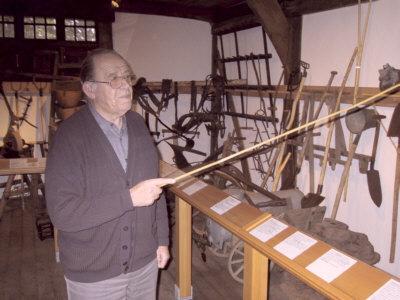Einrichter des Speicher-Museums  Karl Finke