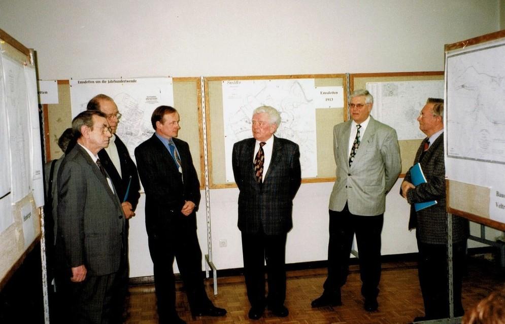 v.l. Heinz Ibeler †, Karl Finke †, Ludger Lehmkzhl, Helmut Brömmelhaus †, Rudi Kattenbeck, Hans Lohaus †